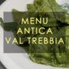 menu antica val trebbia