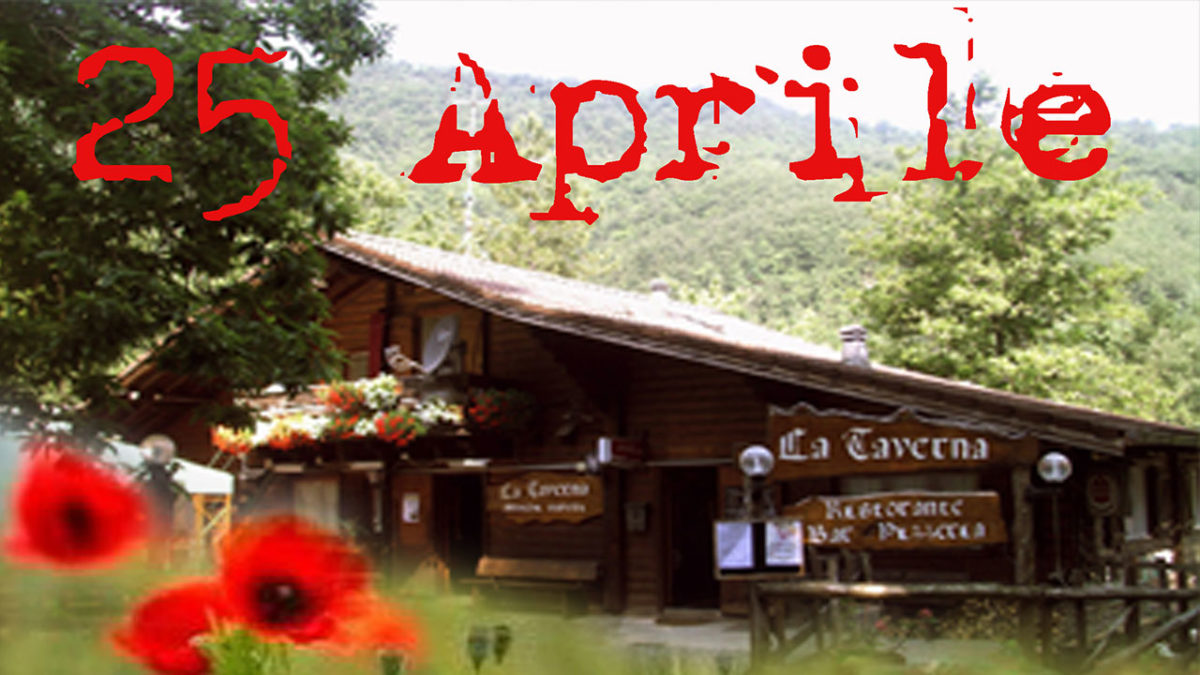 Il 25 Aprile sei dei nostri?